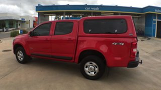 2017 Holden Colorado RG MY17 LS Pickup Crew Cab Absolute Red 6 Speed Sports Automatic Utility