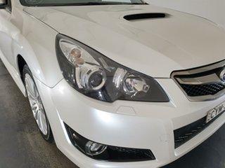 2012 Subaru Liberty B5 MY12 GT AWD Premium White 6 Speed Manual Sedan.