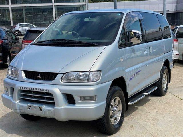 Used Mitsubishi Delica Leichhardt, 2005 Mitsubishi Delica PD6W Spacegear Chamonix Silver Automatic Van Wagon