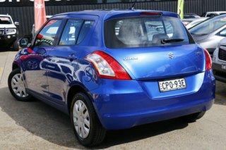 2013 Suzuki Swift FZ GL Blue 5 Speed Manual Hatchback.