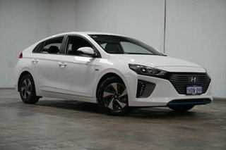 2018 Hyundai Ioniq AE.2 MY19 hybrid DCT Elite White 6 Speed Sports Automatic Dual Clutch Fastback.