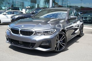 2019 BMW 330i F30 LCI M Sport Mineral Grey 8 Speed Auto Steptronic Sport Sedan.