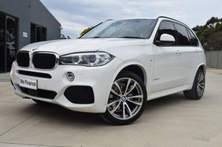 2017 BMW X5 F15 xDrive30d White 8 Speed Sports Automatic Wagon
