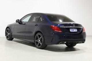 2016 Mercedes-Benz C200 205 MY16 Blue 7 Speed Automatic Sedan