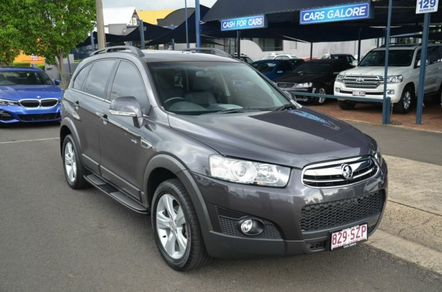 Used Holden Captiva CG MY12 7 CX (4x4) Toowoomba, 2012 Holden Captiva CG MY12 7 CX (4x4) Grey 6 Speed Automatic Wagon