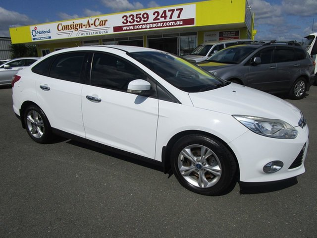 Used Ford Focus LW Trend PwrShift, 2011 Ford Focus LW Trend PwrShift White 6 Speed Auto Sedan