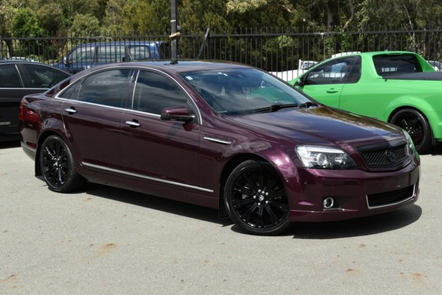 Used Holden Caprice WN V Underwood, 2013 Holden Caprice WN V Maroon 6 Speed Auto Active Sequential Sedan
