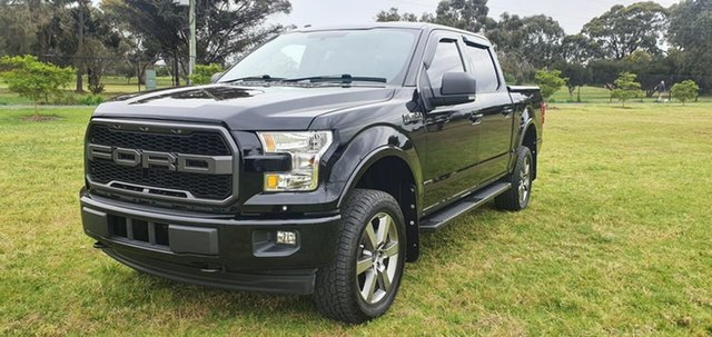 Used Ford F150 XLT Melton, 2017 Ford F150 (No Series) XLT Black Automatic Utility