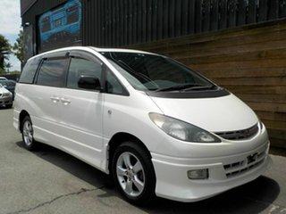 2000 Toyota Estima MCR40W Aeras 3.0 T White 4 Speed Automatic Wagon.
