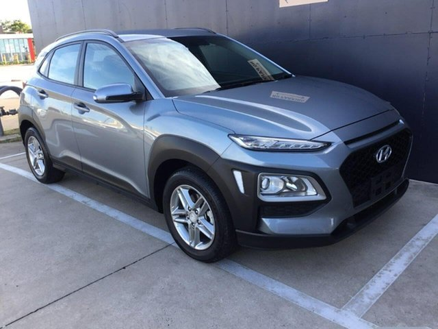 Used Hyundai Kona OS.2 MY19 Active 2WD Stuart Park, 2018 Hyundai Kona OS.2 MY19 Active 2WD Grey 6 Speed Sports Automatic Wagon