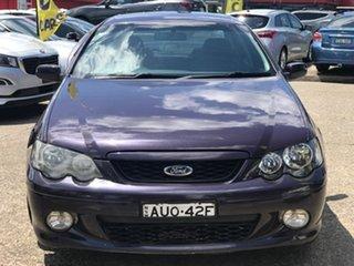 2005 Ford Falcon BA Mk II XR6 Purple 4 Speed Sports Automatic Sedan