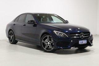2016 Mercedes-Benz C200 205 MY16 Blue 7 Speed Automatic Sedan.