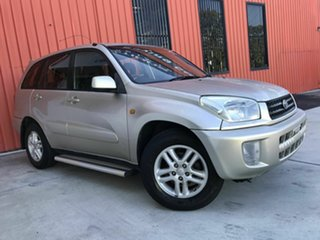 2003 Toyota RAV4 ACA21R Extreme Gold 5 Speed Manual Wagon.