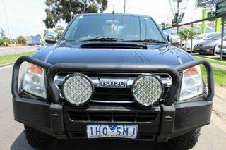 2012 Isuzu D-MAX MY11 LS-U Black 5 Speed Manual Utility.