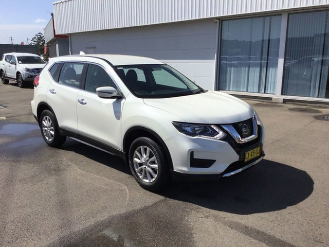 Pre-Owned Nissan X-Trail T32 Series II TS X-tronic 4WD Cardiff, 2017 Nissan X-Trail T32 Series II TS X-tronic 4WD White 7 Speed Constant Variable Wagon