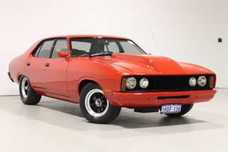 1976 Ford Falcon XC Red 3 Speed Automatic Sedan.