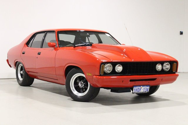 Used Ford Falcon XC Bentley, 1976 Ford Falcon XC Red 3 Speed Automatic Sedan