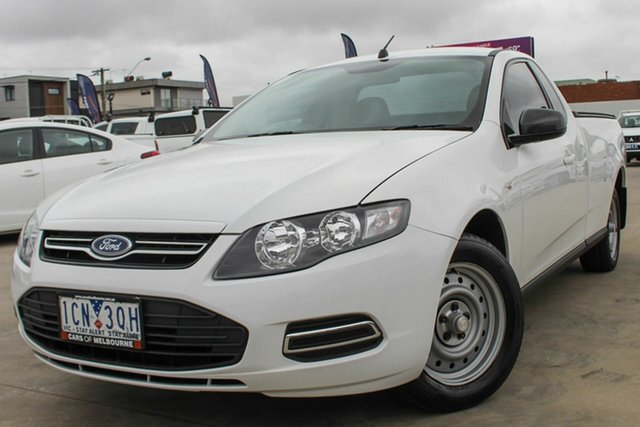 Used Ford Falcon FG MkII EcoLPi Ute Super Cab Coburg North, 2014 Ford Falcon FG MkII EcoLPi Ute Super Cab White 6 Speed Sports Automatic Utility