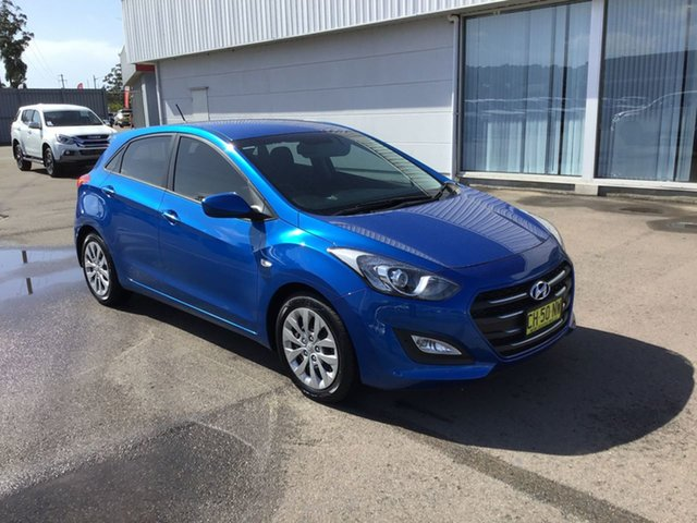 Used Hyundai i30 GD4 Series II MY17 Active Cardiff, 2016 Hyundai i30 GD4 Series II MY17 Active Blue 6 Speed Sports Automatic Hatchback