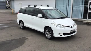 2012 Toyota Tarago ACR50R MY13 GLi White 7 Speed Constant Variable Wagon.
