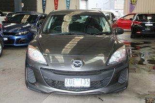 2013 Mazda 3 BM Neo Grey 6 Speed Automatic Hatchback.