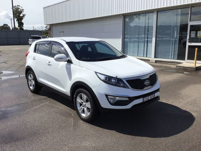 Used Kia Sportage SL MY12 SI Cardiff, 2012 Kia Sportage SL MY12 SI White 6 Speed Sports Automatic Wagon