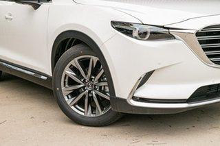 2020 Mazda CX-9 TC Azami SKYACTIV-Drive Snowflake White Pearl 6 Speed Sports Automatic Wagon.