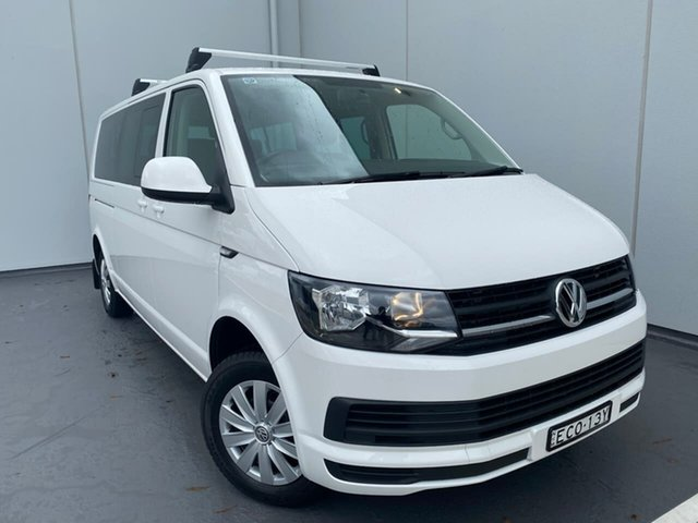 Used Volkswagen Caravelle T6 MY19 TDI340 LWB DSG Liverpool, 2019 Volkswagen Caravelle T6 MY19 TDI340 LWB DSG White 7 Speed Sports Automatic Dual Clutch Wagon