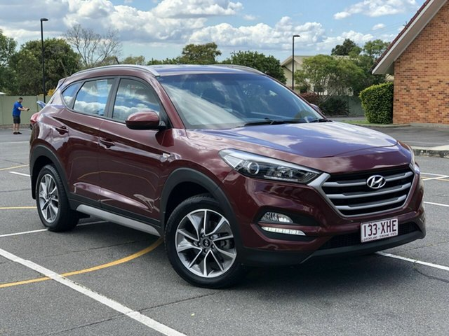 Used Hyundai Tucson TL MY18 Active X 2WD Chermside, 2017 Hyundai Tucson TL MY18 Active X 2WD Maroon 6 Speed Sports Automatic Wagon
