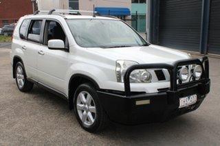 2009 Nissan X-Trail T31 MY10 TS (4x4) White 6 Speed Manual Wagon.