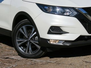 2019 Nissan Qashqai J11 Series 2 ST-L X-tronic White 1 Speed Constant Variable Wagon.