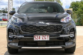 2019 Kia Sportage QL MY20 GT-Line AWD Cherry Black 6 Speed Sports Automatic Wagon