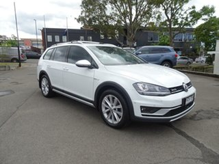 2015 Volkswagen Golf VII MY16 Alltrack DSG 4MOTION 132TSI Candy White 6 Speed.