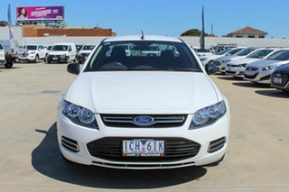 2014 Ford Falcon FG MkII EcoLPi Ute Super Cab White 6 Speed Sports Automatic Utility