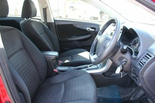 2011 Toyota Corolla ZRE152R MY11 Ascent Red 4 Speed Automatic Sedan