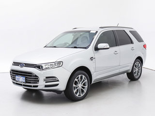 2014 Ford Territory SZ Titanium (4x4) Silver 6 Speed Automatic Wagon.