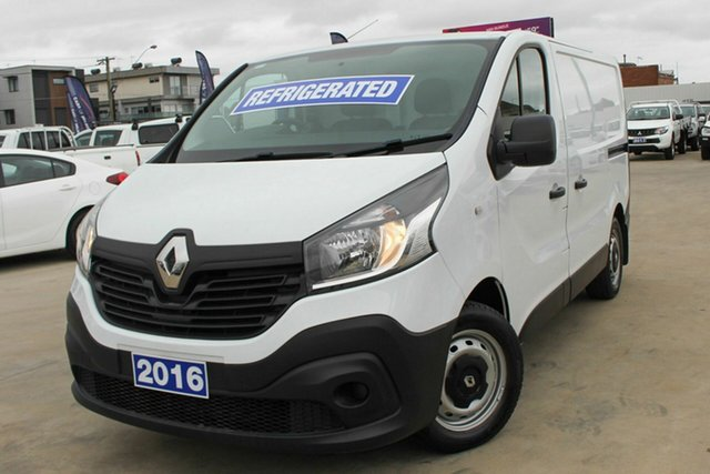 Used Renault Trafic X82 66KW Low Roof SWB Coburg North, 2016 Renault Trafic X82 66KW Low Roof SWB White 6 Speed Manual Van