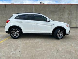 2017 Mitsubishi ASX XC MY17 XLS White 6 Speed Sports Automatic Wagon.