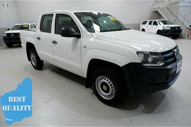 Used Volkswagen Amarok 2H MY14 TDI420 4Motion Perm Kenwick, 2014 Volkswagen Amarok 2H MY14 TDI420 4Motion Perm White 8 Speed Automatic Utility