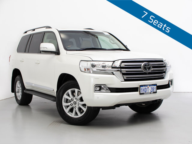 Used Toyota Landcruiser VDJ200R MY16 Sahara (4x4), 2018 Toyota Landcruiser VDJ200R MY16 Sahara (4x4) White 6 Speed Automatic Wagon