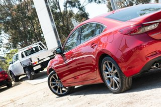 2016 Mazda 6 GJ1022 Atenza SKYACTIV-Drive Red 6 Speed Sports Automatic Sedan