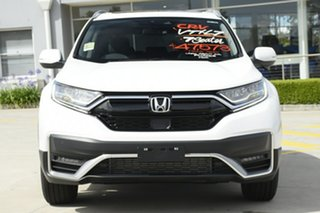 2021 Honda CR-V RW MY21 VTi FWD L7 Platinum White 1 Speed Constant Variable Wagon
