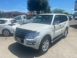 2016 Mitsubishi Pajero NX MY17 GLS White 5 Speed Sports Automatic Wagon.