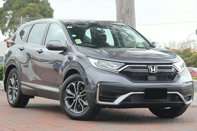 New Honda CR-V RW MY21 VTi FWD X Parramatta, 2020 Honda CR-V RW MY21 VTi FWD X Modern Steel 1 Speed Constant Variable Wagon