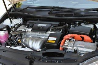 2017 Toyota Camry AVV50R Altise White 1 Speed Constant Variable Sedan Hybrid