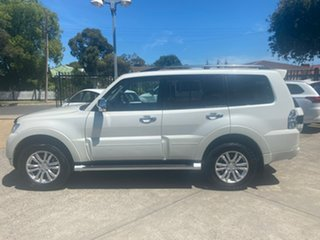 2016 Mitsubishi Pajero NX MY17 GLS White 5 Speed Sports Automatic Wagon