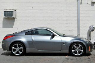 2006 Nissan 350Z Z33 MY06 Touring Silver 5 Speed Sports Automatic Coupe.