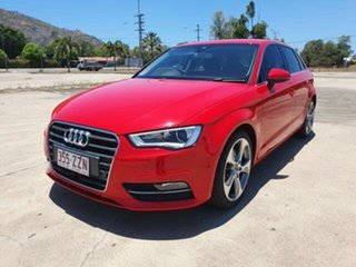 2013 Audi A3 8P MY13 Ambition Sportback S Tronic Brilliant Black 7 Speed