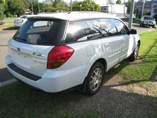 2005 Subaru Outback MY05 2.5i AWD White 4 Speed Auto Elec Sportshift Wagon