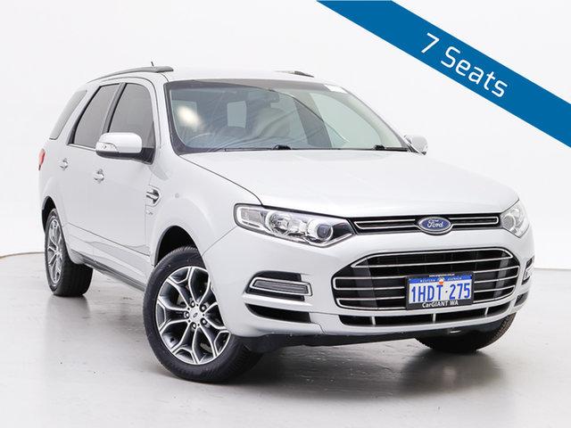 Used Ford Territory SZ Titanium (4x4), 2014 Ford Territory SZ Titanium (4x4) Silver 6 Speed Automatic Wagon